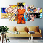 pintura-dragon-ball-transformaciones-goku