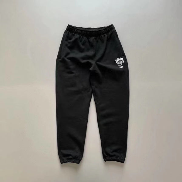 (Pre-order) Nike x Stussy International Sweatpants Black