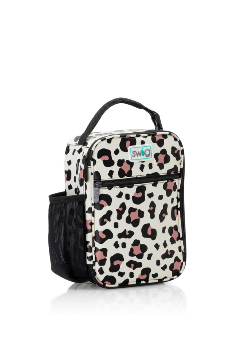 luxy leopard boxxi lunch bag by swig