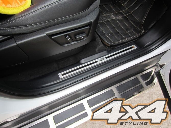 For Land Rover Freelander 2 2007 - 2015 Side Steps Running Boards Set - Type 4