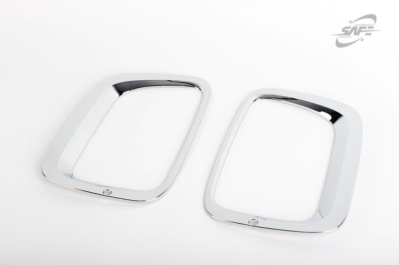 For Kia Sorento 2013 - 2014 Chrome Front & Rear Fog Light Covers Trim Set