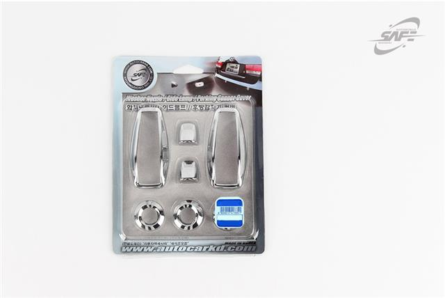 For Hyundai Terracan 2001 - 2007 Chrome Exterior Styling Trim Set Type B