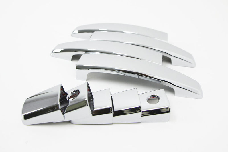 Auto Clover Chrome Door Handle Covers Trim Set for Chevrolet Captiva 2007+