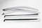 Auto Clover Chrome Wind Deflectors Set for Ssangyong Rodius (4 pieces)