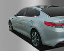Auto Clover Chrome Side Window Cover Trim Set for Kia Optima 2016+