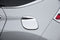 Auto Clover Chrome Fuel Cap Door Cover Trim for Honda CRV 2012 - 2017