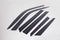 Auto Clover Wind Deflectors Set for Ssangyong Korando 2019+ (6 pieces)