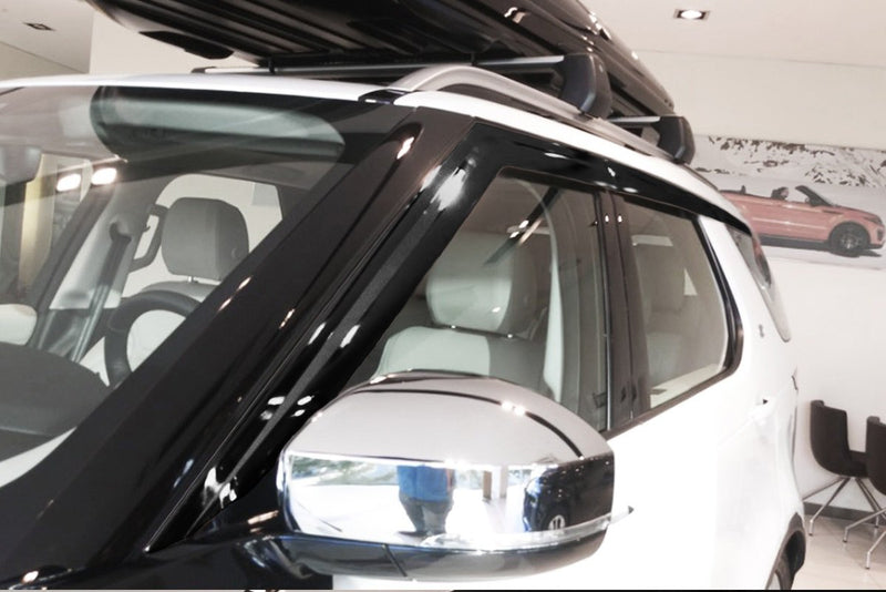Auto Clover Premium Wind Deflectors for Land Rover Discovery 5 2017+ (6 pieces)