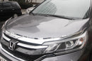 Auto Clover Chrome Bonnet Guard Protector Set for Honda CRV 2012 - 2017