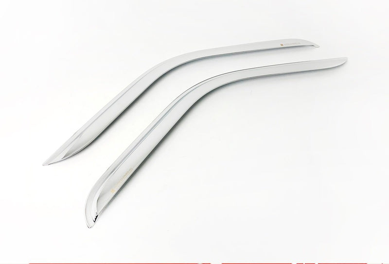 Auto Clover Chrome Wind Deflectors Set for Renault Master 2010+ (2 pieces)