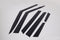 Auto Clover Wind Deflectors Set for Kia Soul 2020+ (6 pieces)