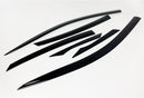 Auto Clover Wind Deflectors Set for Honda Civic 2018+ 4 Door Saloon (6 pieces)