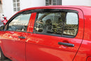 Auto Clover Wind Deflectors Set for Suzuki Celerio 2014+ (4 pieces)