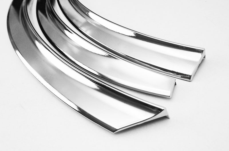 Auto Clover Chrome Wheel Arch Trim Set for Hyundai Tucson 2015 - 2020
