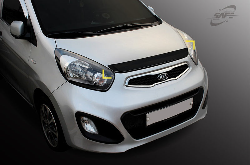For Kia Picanto 2012 - 2016 Bonnet protector guard