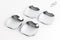 For Chevrolet Captiva 2007+ Chrome Door Handle Bowls Trim Set