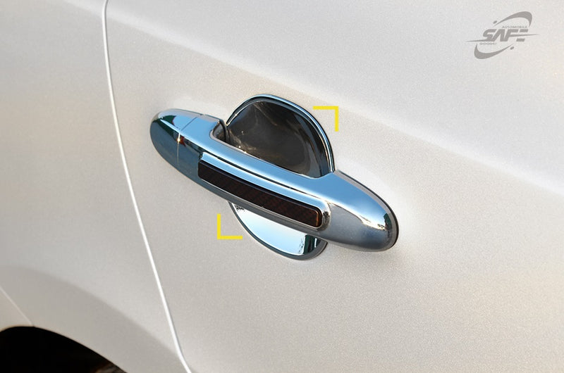 For Hyundai Santa Fe 2007 - 2012 Chrome Door Handle Bowls Trim Set