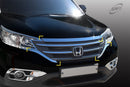 For Honda CRV 2012 - 2014 Chrome Bonnet Protector Guard / Grill Trim Set