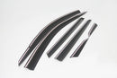 Auto Clover Wind Deflectors Set for Hyundai Tucson 2015 - 2020 (6 pieces)