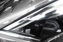 Auto Clover Chrome Wind Deflectors Set for Toyota Camry 2018+ (4 pieces)