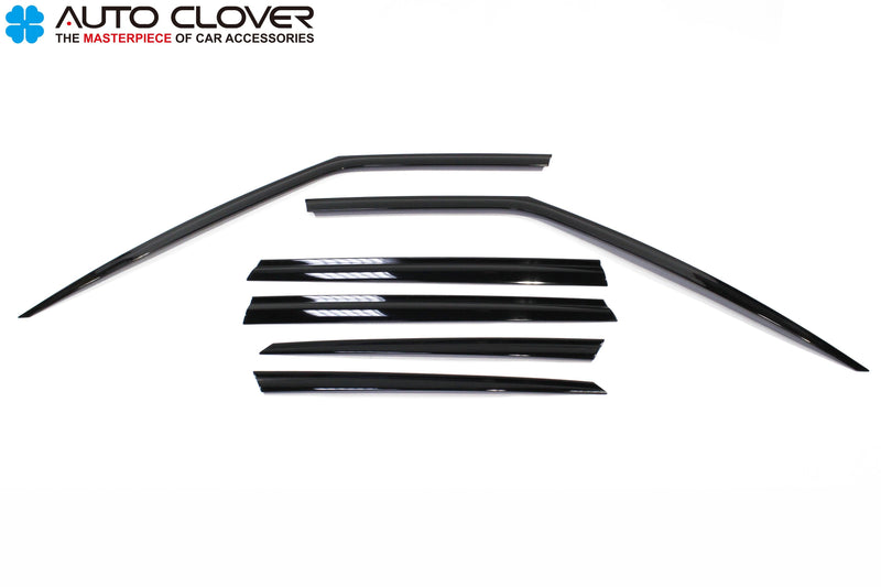 Auto Clover Premium Wind Deflectors for Land Rover Discovery Sport 2014+ (6 pcs)