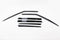 Auto Clover Wind Deflectors Set for BMW X5 E70 2007 - 2013 (6 pieces)