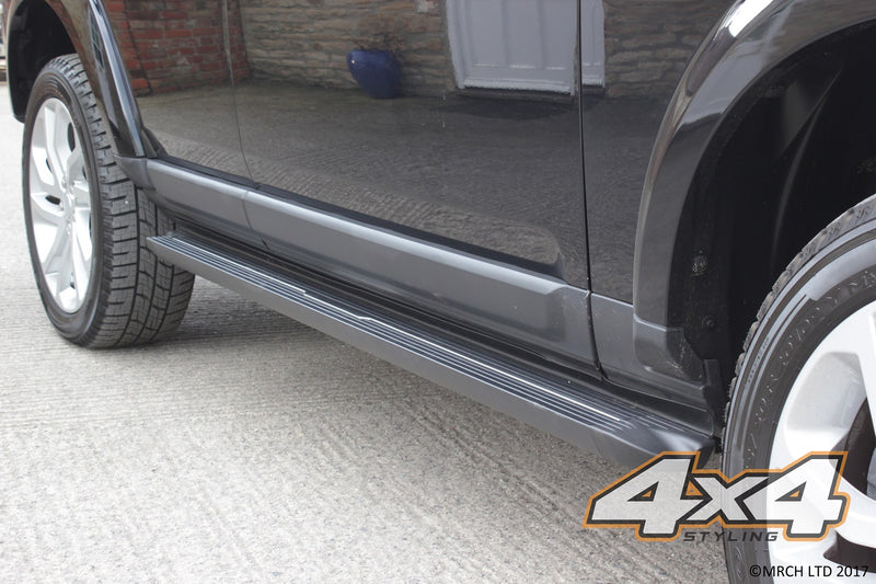 For Kia Sportage 2010 - 2015 Side Steps Running Boards Set - Type 3