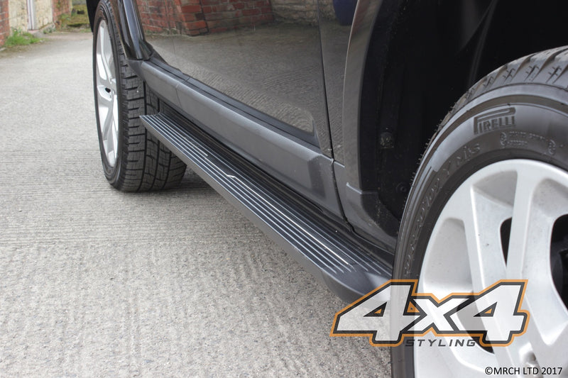 For Audi Q7 2016+ Side Steps Running Boards Set - Type 2