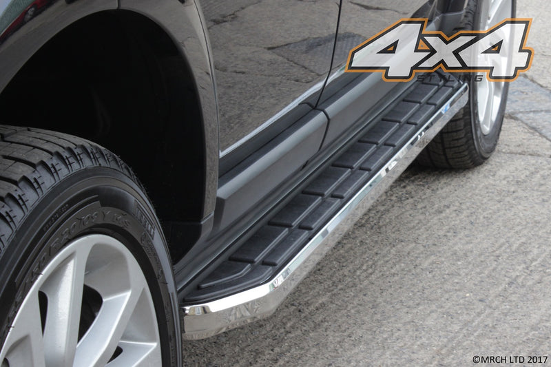 For Audi Q7 2005 - 2015 Side Steps Running Boards Set - Type 3