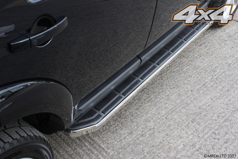For Vauxhall Opel Antara 2007+ Side Steps Running Boards Set Type 5