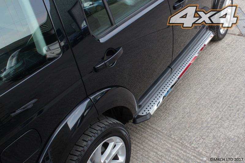 For Land Rover Discovery 3 & 4 Side Steps Running Boards Set - Type 3
