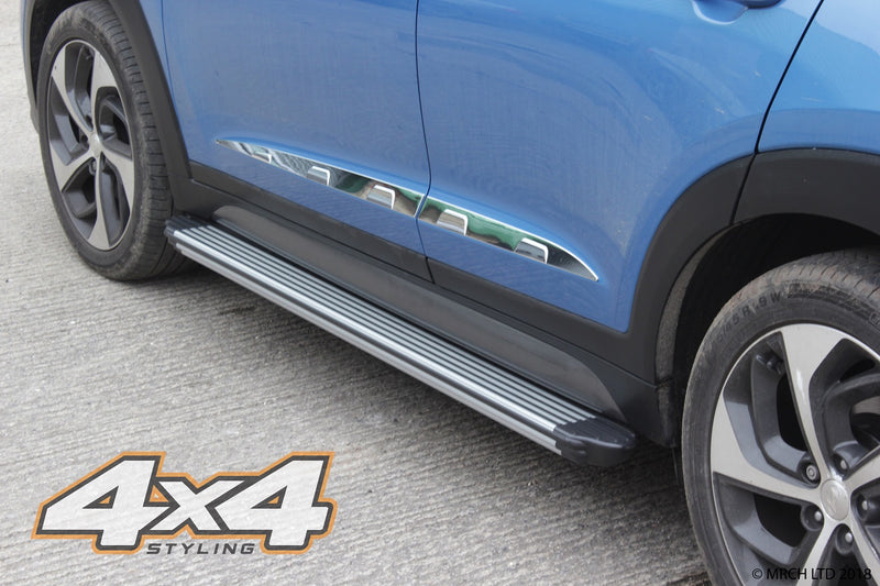 For Skoda Yeti 2009+ Side Steps Running Boards Set - Type 2