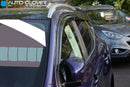 Auto Clover Wind Deflectors Set for Nissan Qashqai 2014+ (6 pieces)