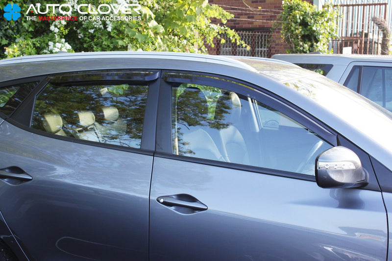 Auto Clover Wind Deflectors Set for Hyundai IX35 2010 - 2015 (4 pieces)