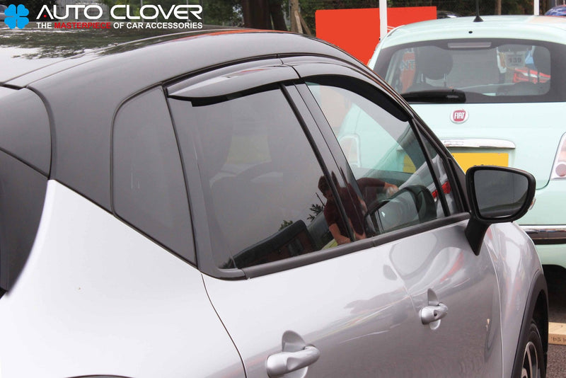 Auto Clover Wind Deflectors Set for Renault Captur (4 pieces)