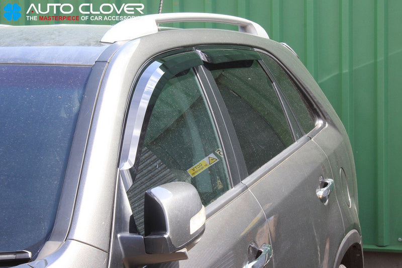 Auto Clover Wind Deflectors Set for Kia Sorento 2010 - 2014 (4 pieces)