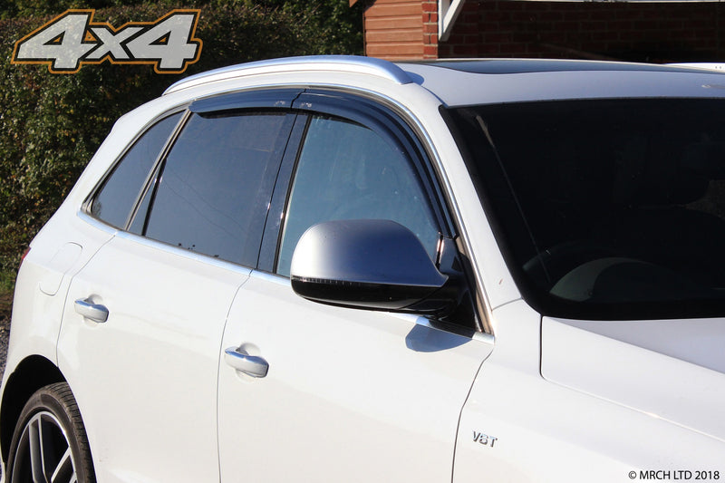 For Audi Q5 2008 - 2017 Wind Deflectors Set (4 pieces)