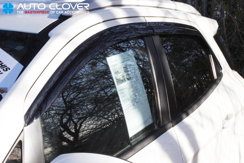 Auto Clover Wind Deflectors Set for Ford Ecosport (4 pieces)
