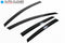 Auto Clover Wind Deflectors Set for Ford Focus MK3 2011 – 2018 5 Door (4 pieces)