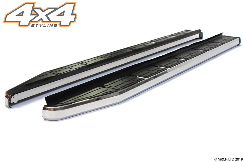 For Land Rover Discovery 3 & 4 Side Steps Running Boards Set