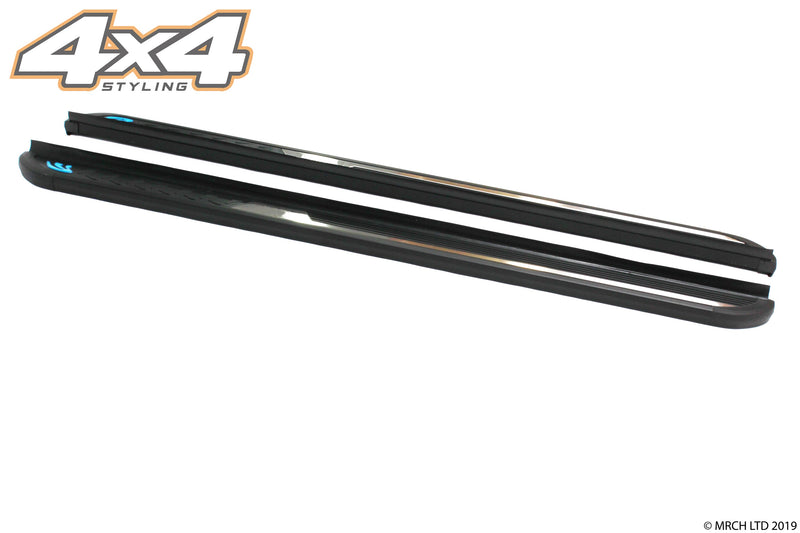 For Vauxhall Opel Antara 2007+ Side Steps Running Boards Set - Type 4