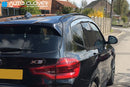 Auto Clover Chrome Wind Deflectors Set for BMW X3 G01 2018+ (6 pieces)