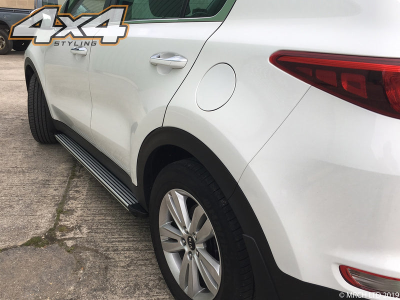 For Kia Sportage 2016+ Side Steps Running Boards Set - Type C