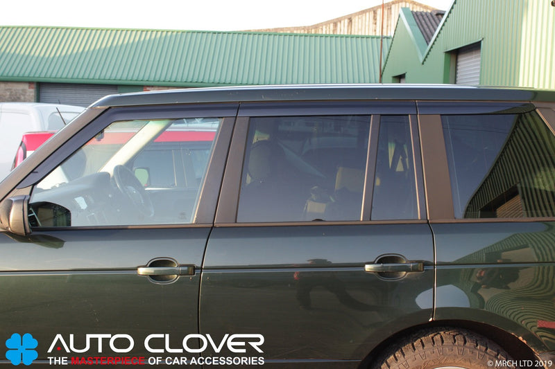 Auto Clover Wind Deflectors for Land Rover Range Rover Vogue L322 2002 - 2012