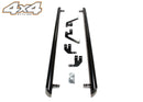 "For Ford Transit Custom 2012+ Black Side Steps Bars Boards Set 3"" SWB"