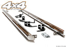 "For Ford Tourneo Custom 2012+ T304 Stainless Steel Side Steps Bars Set 3"" SWB"