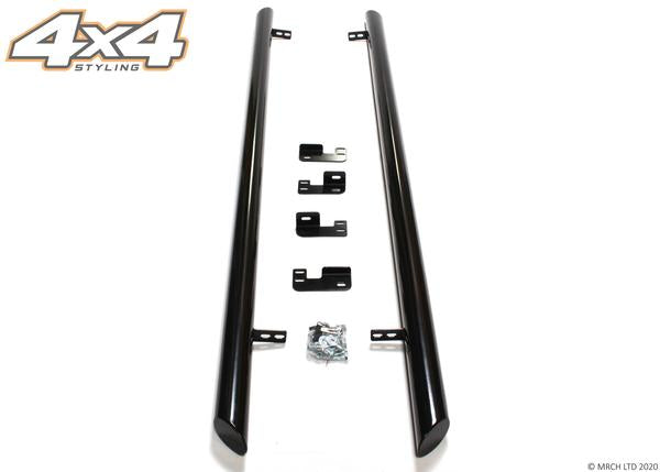 "For Nissan Primastar 2001 - 2014 Black Side Steps Bars Boards Set 3"" SWB"