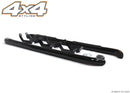 For Volkswagen Amarok 2010+ Black Side Steps Bars Set 3""