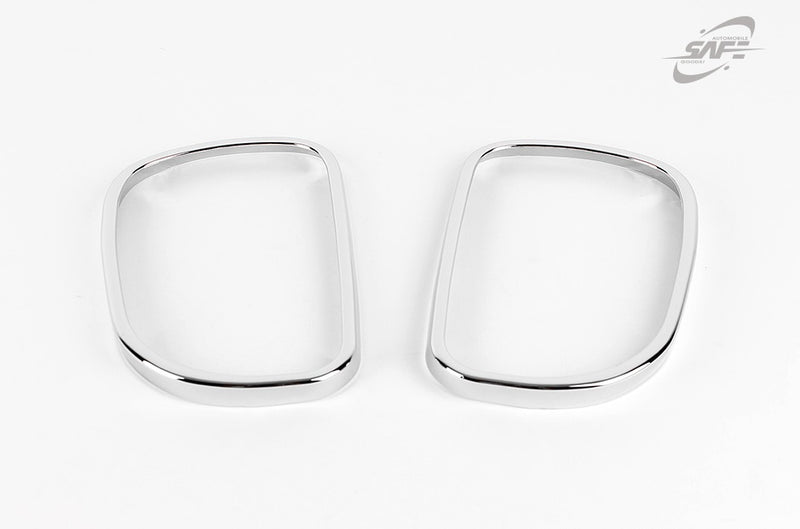 For Hyundai Santa Fe 2001 - 2006 Chrome Wing Door Mirror Rings Trim Set