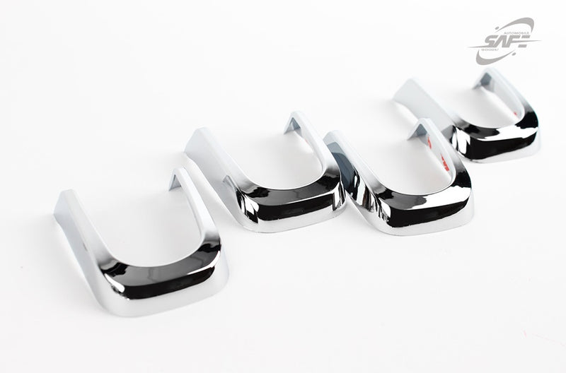 For Ssangyong Turismo 2013+ Chrome door handle cover trim set